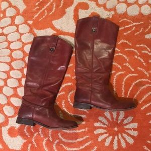 Frye Melissa Knee-high Leather Riding Boots
